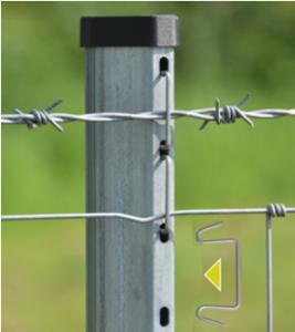 metaliniai stulpai tvoroms angliški