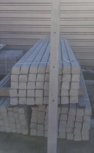 beton stulpas tvorai
